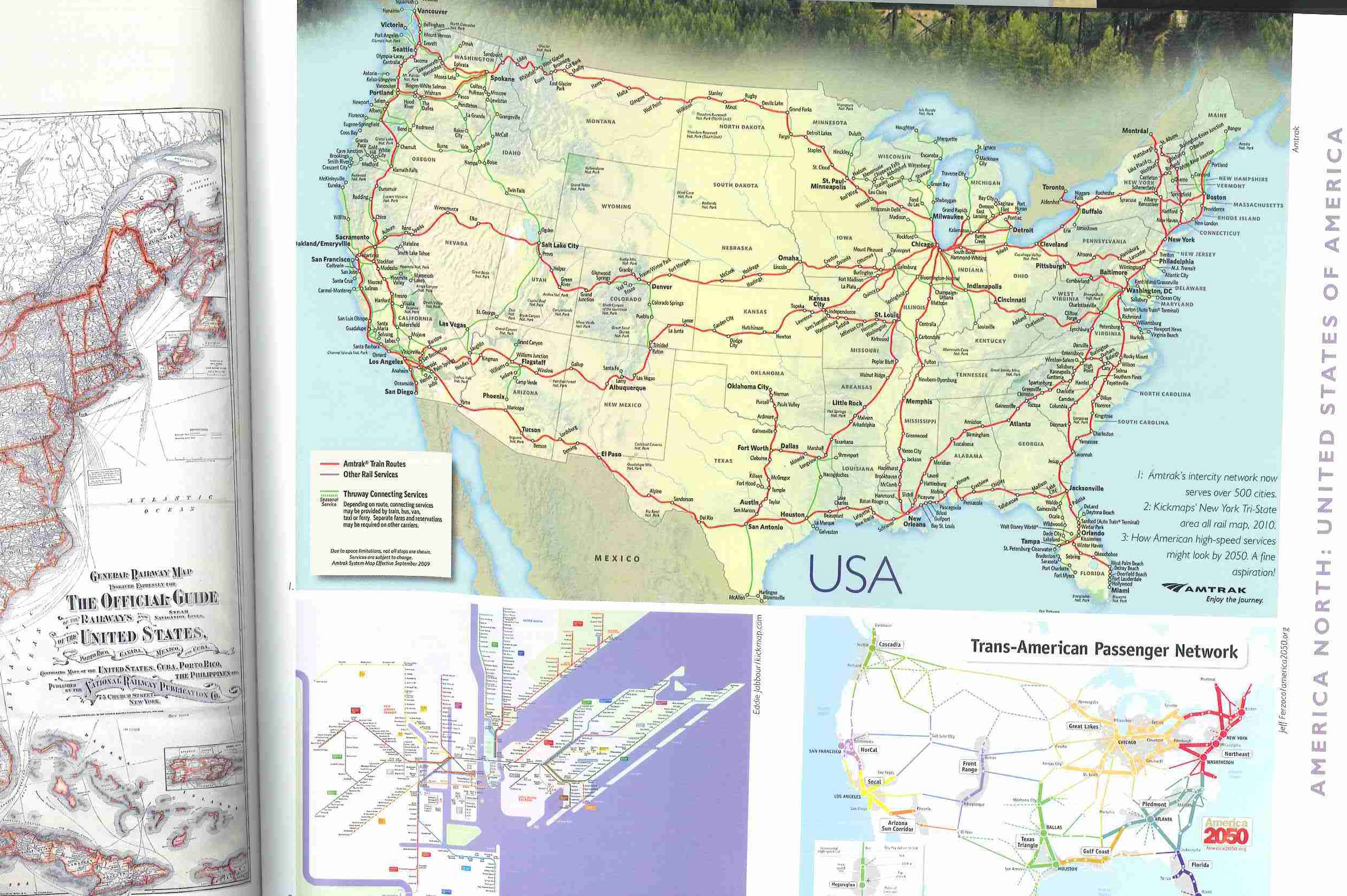 uic has received a copy of railway maps of the world from author mark ovenden the work was published by viking a member of penguin group usa
