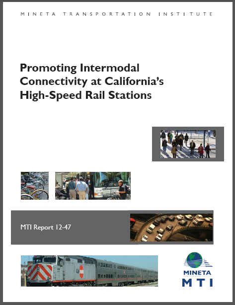 How to have intermodal connectivity at US high-speed rail stations