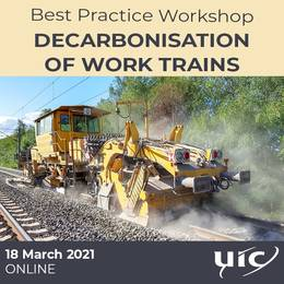 Decarbonisation of Work trains