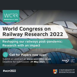 World Congress on Railway Research 2022