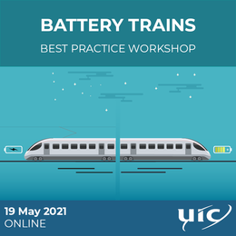 Battery trains