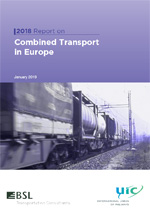 Report on Combined Transport in Europe - 2018 cover